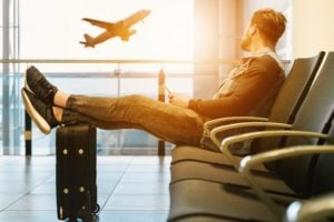 International wire transfers involve many middlemen, similar to airport layovers.